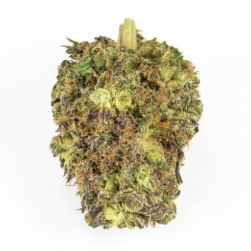 Indica-Dominant NO. 402 BLUEBERRY KUSH (SHISHKABERRY) by Haven St. THC 10-20% CBD 0-0.1%