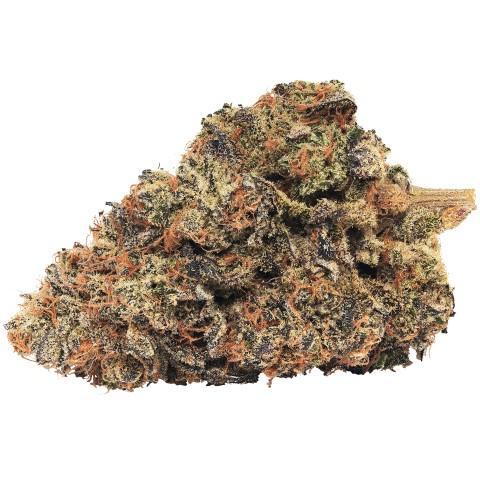 Indica-Dominant SATURNA (MUSKMELON OG) by Broken Coast Cannabis THC 14-24% CBD 0-1%