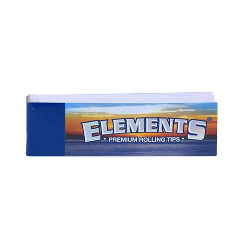 50 ROLLING TIPS by Elements Elements tips will help filter dried flower for a cleaner smoking experience.