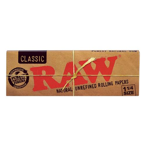 RAW Unrefined papers contain a blend of unbleached fibers and are finished with a special, natural gumline to match the burn rate of the rolling paper. Each sheet is watermarked with our proprietary criss-cross imprint that helps prevent runs and maintains the smoothest burn.