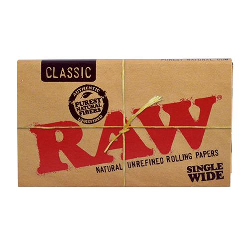 CLASSIC ROLLING PAPERS - SINGLE WIDE by RAW
