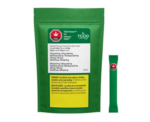 DISSOLVABLE THC POWDER by Ripple by TGOD