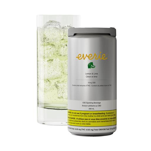 LEMON & LIME CBD SPARKLING BEVERAGE by Everie