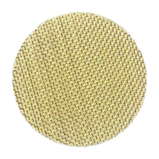 Suitable for use with most glass, metal, ceramic, silicone, or wood pieces, these screens help prevent clogging of bowls and stems in pipes, bubblers, and bongs. Each pack contains 20 individual brass pipe screens.