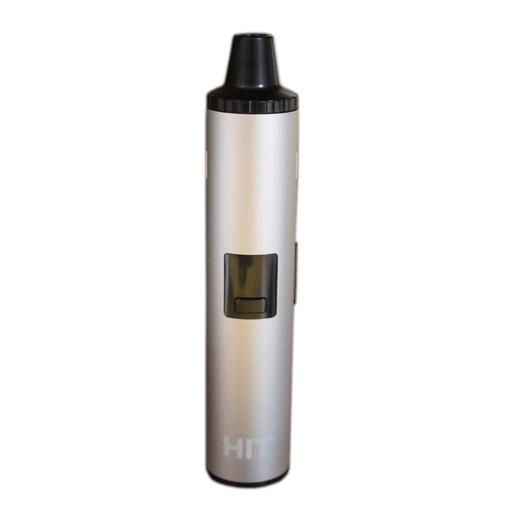 HIT flower kit is a dried flower vaporizer that heats up in 30 seconds using a conduction oven, and vibrates once at the correct temperature. Vaporizer, cleaning brush, type C cable, and user manual included.