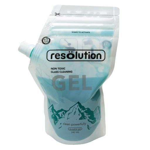 ResOlutions Cleaning Gel is a natural, clay-based formula designed for use with glass pipes, bongs, grinders, and tools. Free of abrasive salts and low in volatile organic compounds, ResOlutions Cleaning Gel comes in a re-sealable pouch equipped with a pouring spout.