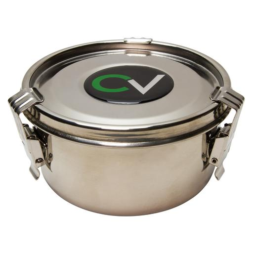 MEDIUM STORAGE CONTAINER by C Vault. C Vault storage containers are enclosed, airtight, and light-tight, and include a Boveda humidity pack.