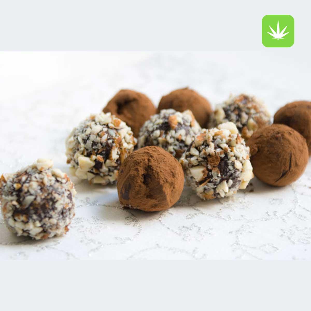 Cannabis Dark chocolate truffles Cannabis Avenue