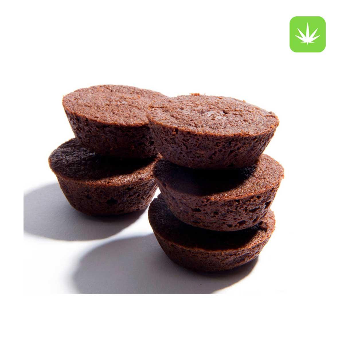 Cannabis Fudge Brownie Bites Cannabis Avenue