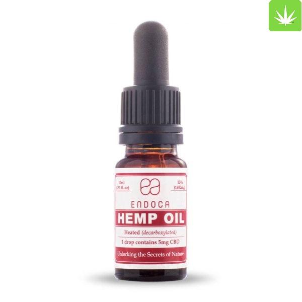 Hemp Oil Drops 1500mg FrontView