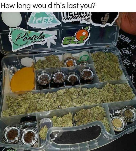 Marijuana served